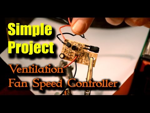 DIY Project - PC Fan Speed Controller - Cheap and Simple