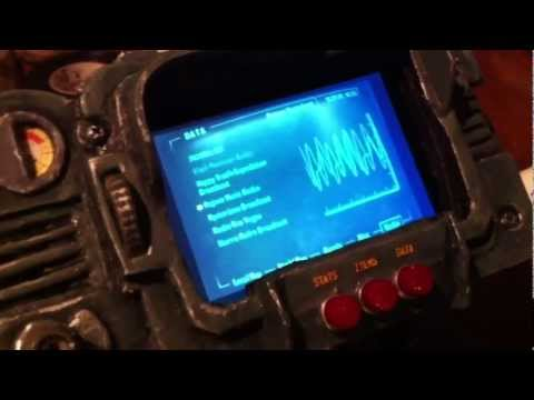 Pip-boy 3000 - Homemade/DIY prop with screen and sounds