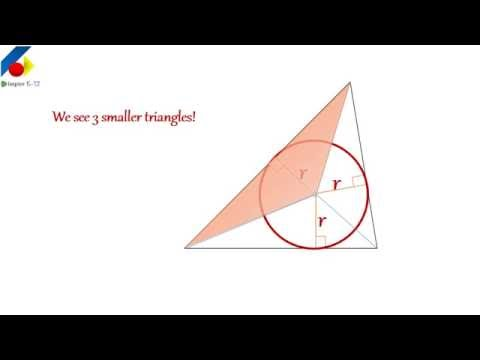 What is RADIUS of an INCIRCLE