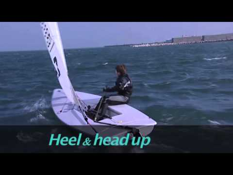 Laser Sailing Top Tips - Tacking - with Double Olympic Gold Medallist Shirley Robertson