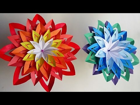 DIY Home Decor | Paper Flower | Easy And Simple Steps |