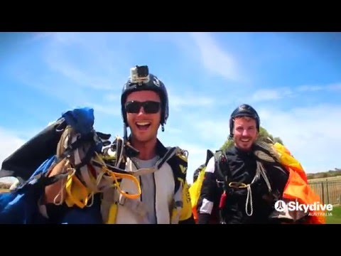 Skydive York with the Skydive Australia crew