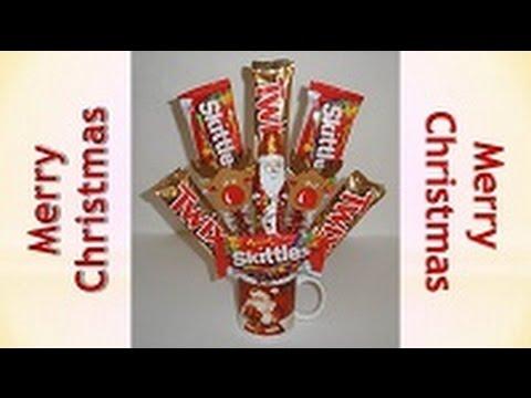 Kids Christmas crafts - Festive & Tasty Holiday Centerpiece