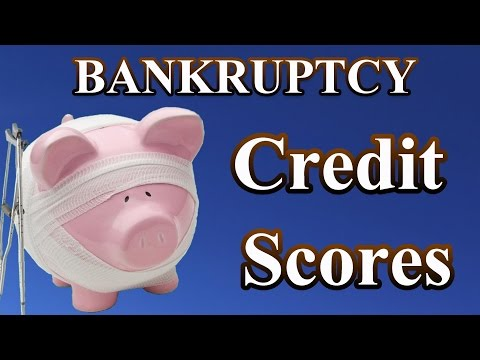 Bankruptcy: How does it affect my credit score?