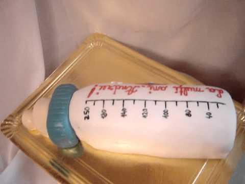 Baby Bottle Cake