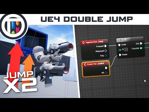 Unreal Engine 4 Tutorial - How to Double Jump in UE4