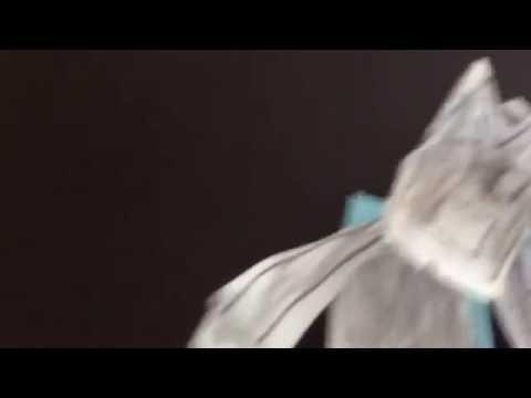How to make a paper BATMAN