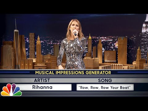 watch Wheel of Musical Impressions with Céline Dion