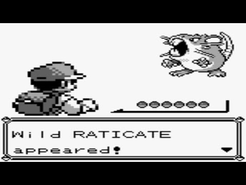 Pokémon Red and Blue - Catching Raticate (Part 94)