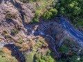 Cyclone Gita Aftermath - Takaka Hill - Aerial - NZ