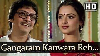 Ganga Ram Kunwara Reh Gaya (HD) - Jeevan Dhara Songs - Raj Babbar - Rekha - Kishore Kumar