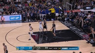 2nd Quarter, One Box Video: San Antonio Spurs vs. Golden State Warriors