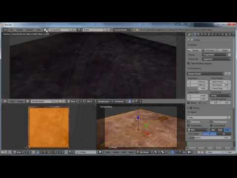 Blender Material Tutorial, Tip Trick Repeat Image with UV Mapping
