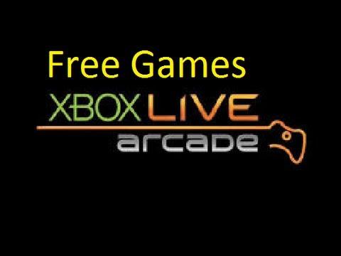 Free xbox 360 Arcade Games