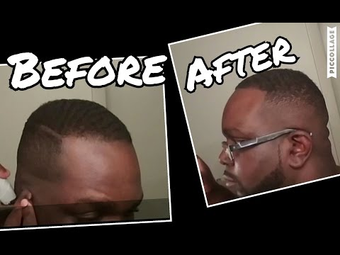 How to cut your hair - Best cut for Receding Hairline - High Fade