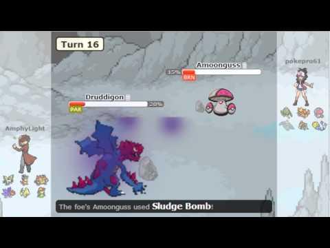 Pokemon Black/White 2 RU Battle #1 - RU ready ?