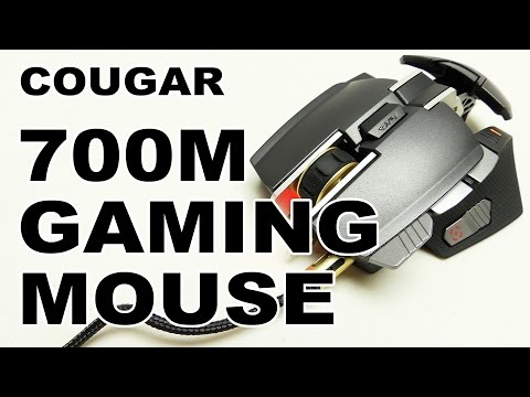 Cougar 700M Aluminum Laser Gaming Mouse Review
