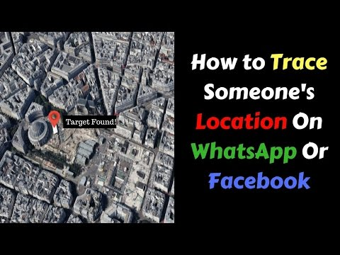 How to trace location of any person on Facebook,Whatsapp