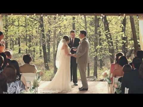 PostOak Lodge wedding {Tulsa wedding video}