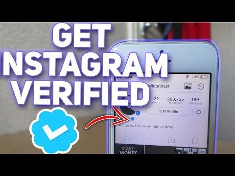 How To Get Verified on Instagram ( No Jailbreak / No Computer ) * NOT CLICKBAIT *
