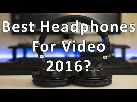 Audio Technica ATH-M50x The Best Headphones For Video?! Review & Breakdown