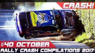 Rally Crash Compilation Week 40 October 2017 | RACINGFAIL