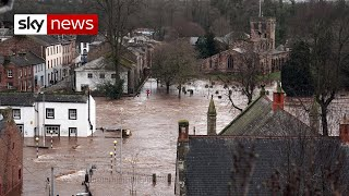 Storm Ciara: The clean-up begins across the UK