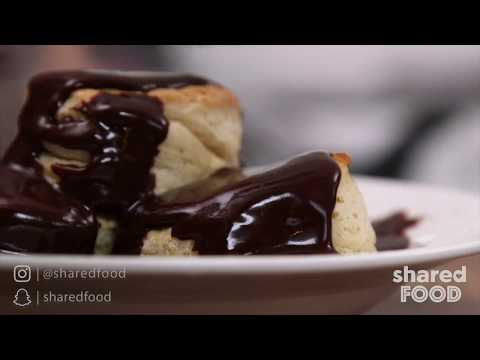 Biscuits and Chocolate Gravy