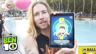 Ben 10 | NEW GAME: Alien Experience @ Comic Con! | Cartoon Network