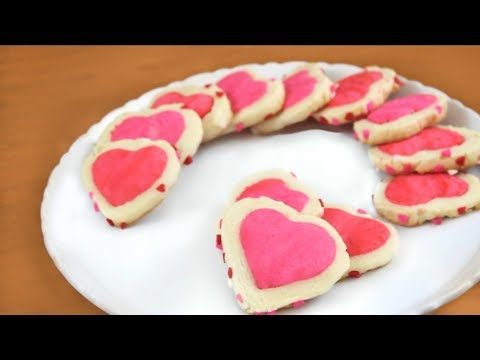 Valentine's Day Heart Cookies | SweetTreats