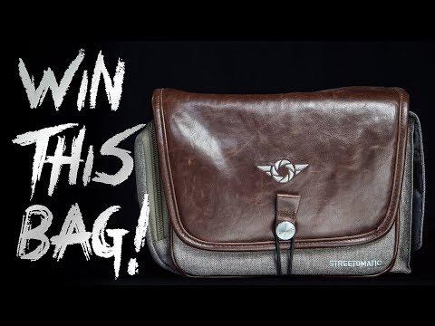 Photojosephs Photo Contest ► WIN a COSYSPEED STREETOMATIC+ Camera Bag!