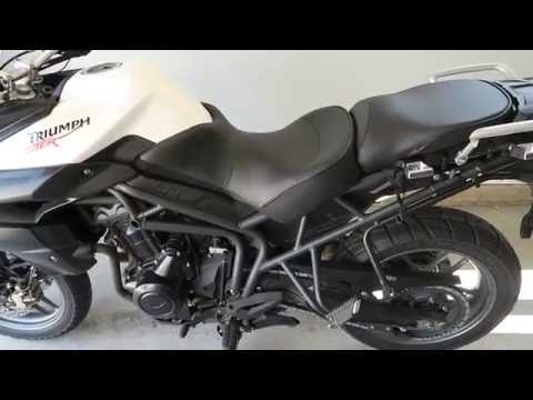 Sargent Cycle Seat Review on Triumph Tiger 800