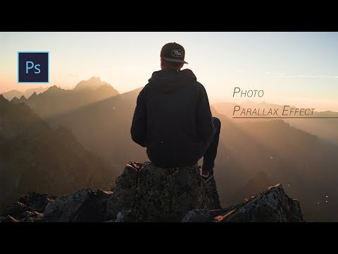 2.5D Parallax Photo Effect Tutorial: Photoshop cc 2018