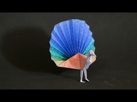 Origami: Peacock