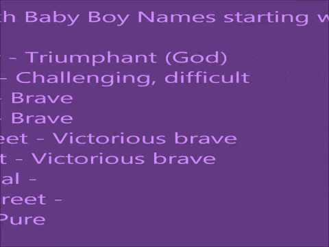 Indian Hindu Baby Boy Names H Names That Start With V Boy