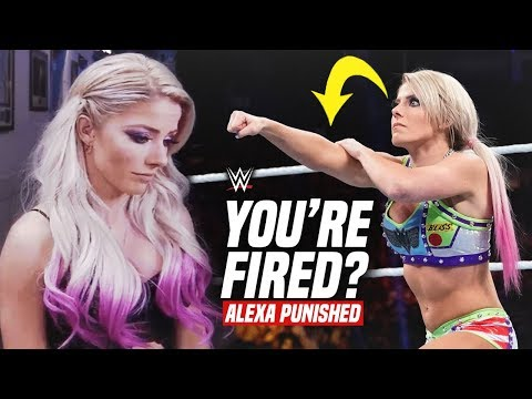 Xxx Mp4 Alexa Bliss HORRIBLY PUNISHED By WWE After Her Gesture Amp Ring Attire GO TOO FAR 3gp Sex