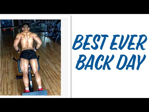 how to build a bigger back |. check this out 😱😱