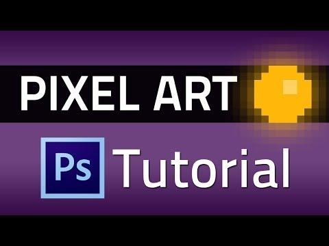 Pixel Art - Photoshop Tutorial