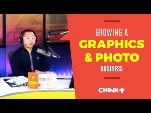 GETTING INTO GRAPHICS AND PHOTOGRAPHY BUSINESS