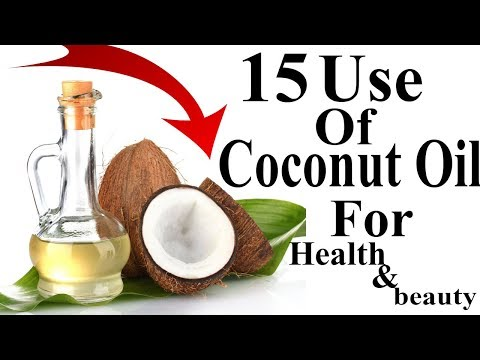 15 Uses for Coconut Oil Your go to health, beauty / Coconut Oil For health&beauty