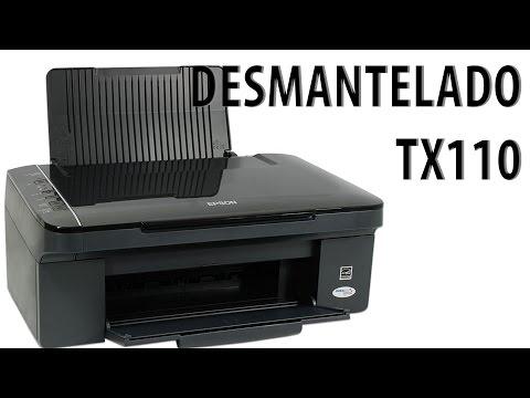 Desmantelado rápido de Epson TX110 - SX110