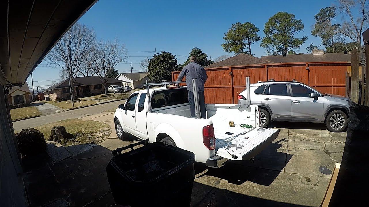 Nissan Frontier - Installing a truck ladder rack and saving money