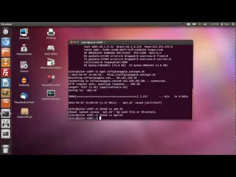 Setup ICS on the Wi-Fi Pineapple IV in Linux