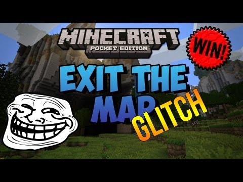 Exit The Map Glitch - Minecraft Pocket Edition