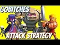 3 Star Gobltches Attack Strategy Gameplay Golem Barbarians W