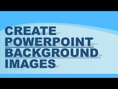 Create custom backgrounds in PowerPoint