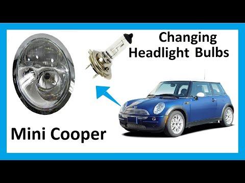 How to change headlight bulbs in your Mini Cooper