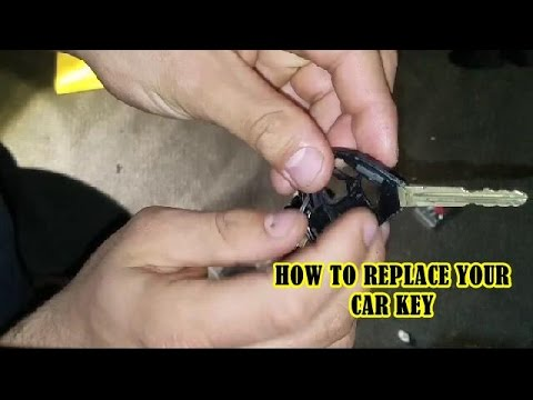 How Can You Replace A Car Key for a new key for scion or toyota