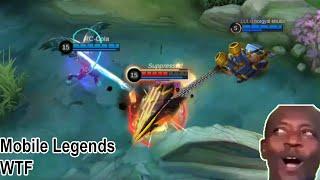 Mobile Legends WTF | Funny moments Noob Aldous Get bullied