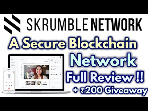 Skrumble Network Review | Rs.200 Paytm Giveaway Inside !